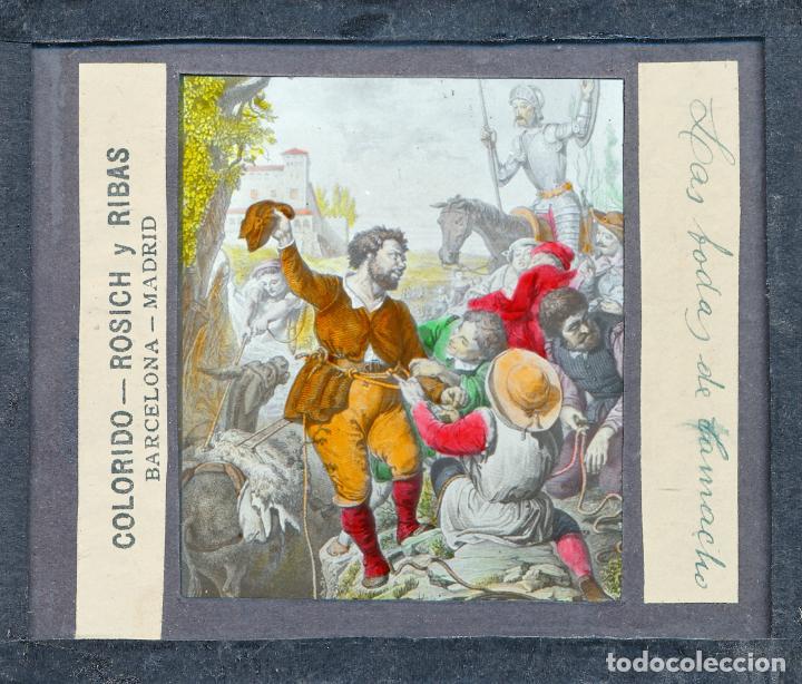 Antigüedades: COLECCIÓN DE VISTAS DON QUIJOTE DE LA MANCHA + LINTERNA ICA, DRESDEN, PRINCIPIOS S.XX - Foto 21 - 79858461