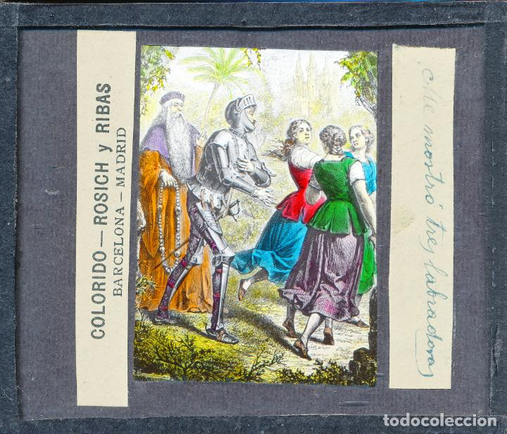 Antigüedades: COLECCIÓN DE VISTAS DON QUIJOTE DE LA MANCHA + LINTERNA ICA, DRESDEN, PRINCIPIOS S.XX - Foto 23 - 79858461