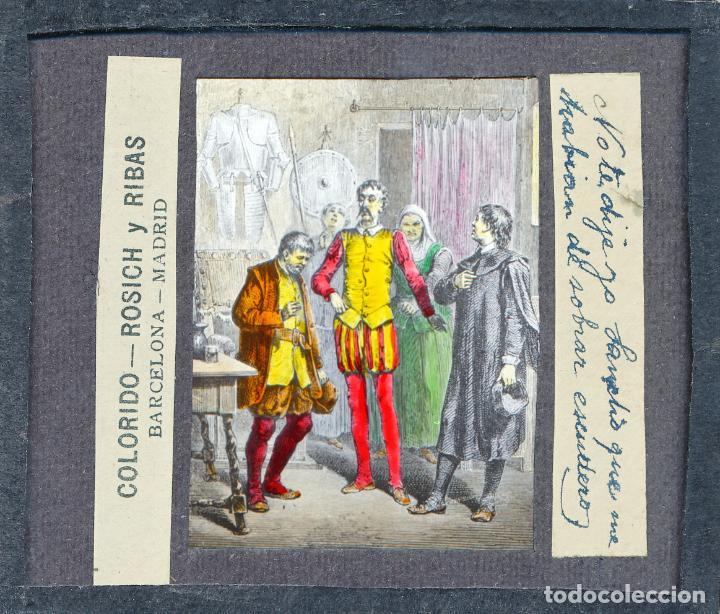 Antigüedades: COLECCIÓN DE VISTAS DON QUIJOTE DE LA MANCHA + LINTERNA ICA, DRESDEN, PRINCIPIOS S.XX - Foto 25 - 79858461