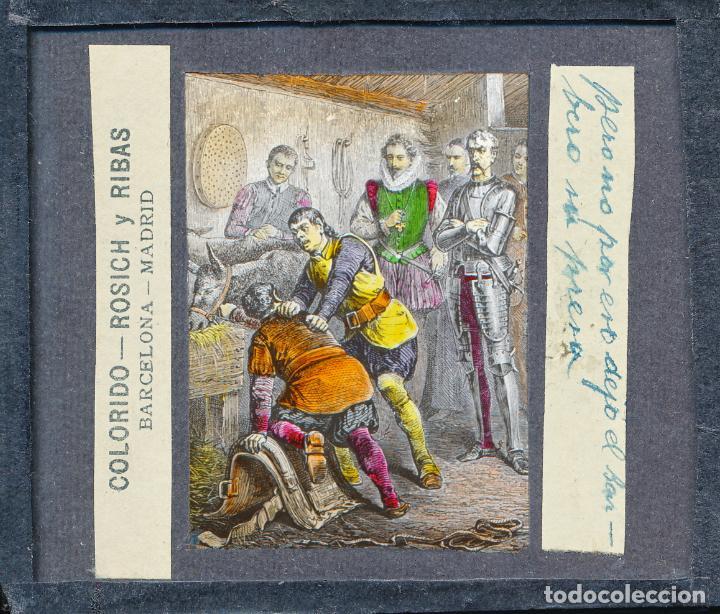 Antigüedades: COLECCIÓN DE VISTAS DON QUIJOTE DE LA MANCHA + LINTERNA ICA, DRESDEN, PRINCIPIOS S.XX - Foto 26 - 79858461