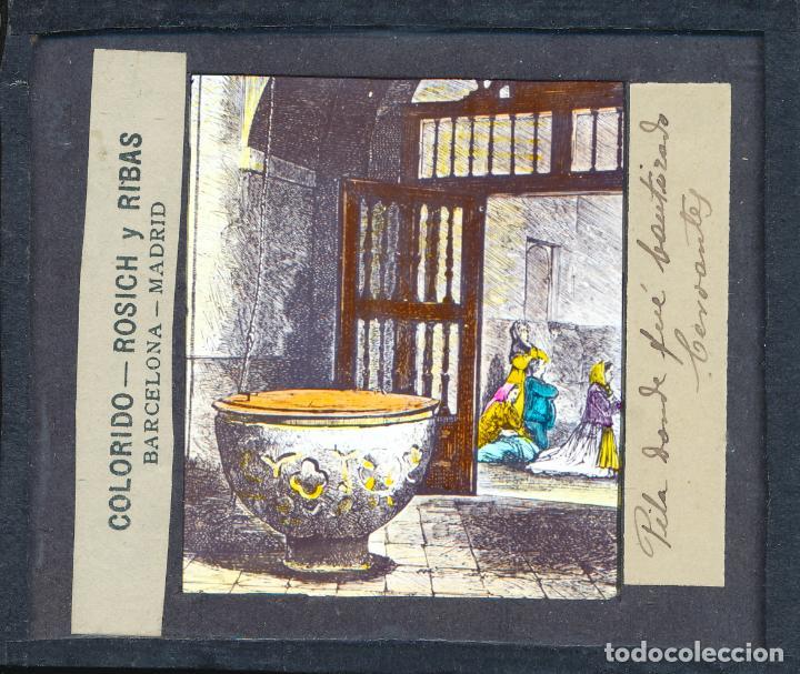Antigüedades: COLECCIÓN DE VISTAS DON QUIJOTE DE LA MANCHA + LINTERNA ICA, DRESDEN, PRINCIPIOS S.XX - Foto 27 - 79858461