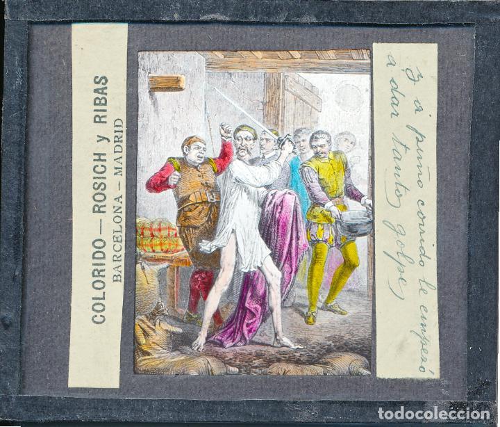Antigüedades: COLECCIÓN DE VISTAS DON QUIJOTE DE LA MANCHA + LINTERNA ICA, DRESDEN, PRINCIPIOS S.XX - Foto 31 - 79858461