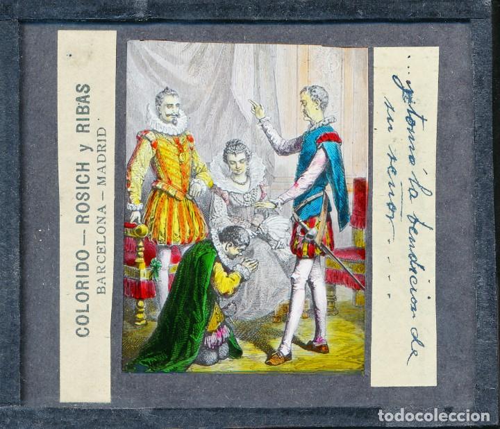 Antigüedades: COLECCIÓN DE VISTAS DON QUIJOTE DE LA MANCHA + LINTERNA ICA, DRESDEN, PRINCIPIOS S.XX - Foto 33 - 79858461