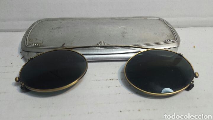 GAFAS BINOCULARES ANTIGUAS JOHN LENNON ORIGINALES AÑOS 70 RARAS (Antigüedades - Técnicas - Instrumentos Ópticos - Gafas Antiguas)