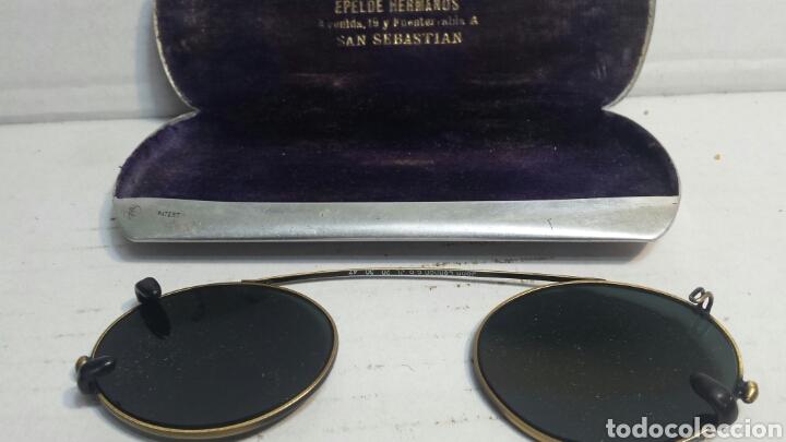 Antigüedades: Gafas binoculares antiguas John Lennon originales años 70 raras - Foto 2 - 80235365