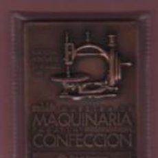 Antigüedades: MEDALLA 11ª BARCELONA MONTJUIC 2 1998 - MAQUINA DE COSER - MAQUINARIA PARA LA CONFECCIÓN . Lote 80308725