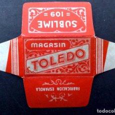 Antigüedades: HOJA DE AFEITAR ANTIGUA-TOLEDO-MAGASIN-SUBLIME 109-VINTAGE. Lote 80763422