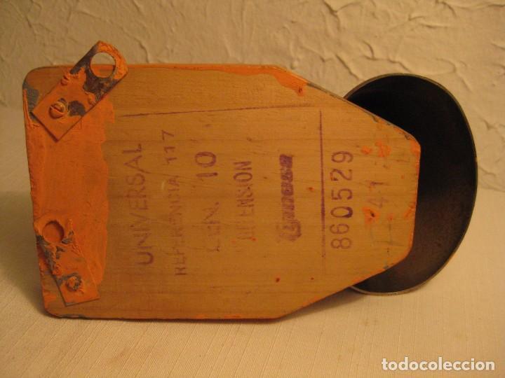 Antigüedades: ANTIGUO TIMBRE ELÉCTRICO UNIVERSAL BITENSIÓN DE CAMPANA DE GRAN TAMAÑO. REFERENCIA DEL FABRICANTE 1 - Foto 5 - 143610904
