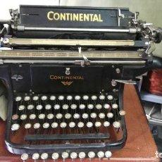 Antigüedades: MAQUINA DE ESCRIBIR CONTINENTAL 1917. Lote 80884563
