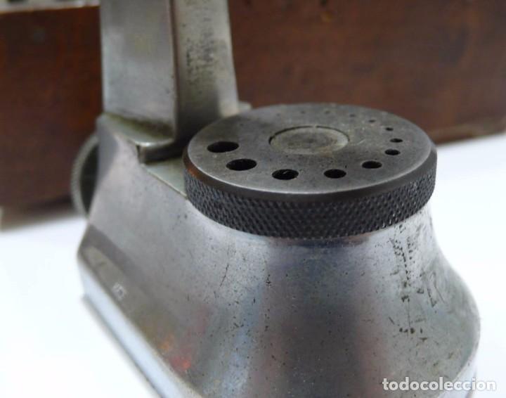 Antigüedades: Herramientas de precisión banquillo de relojero o joyero - C.1900 - Foto 5 - 80972016