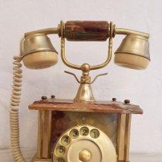 Teléfonos: TELÉFONO ITALIANO DE MARMOL. Lote 81008492