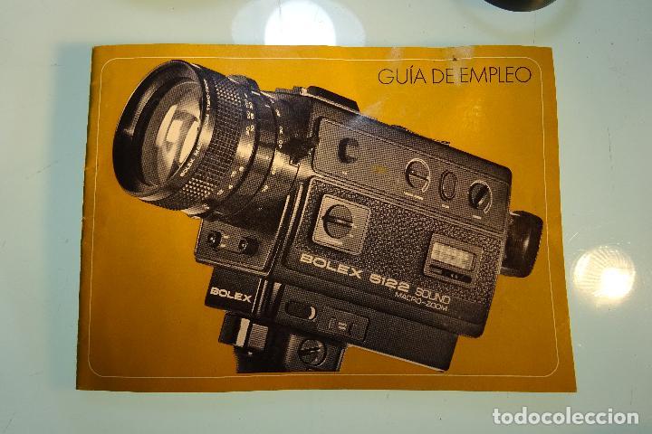 Antigüedades: INTERESANTE LOTE DE CÁMARA SUPER 8 BOLEX MODELO 5122 SOUND - MALETA Y MUCHOS ACCESORIOS - - Foto 3 - 81192936