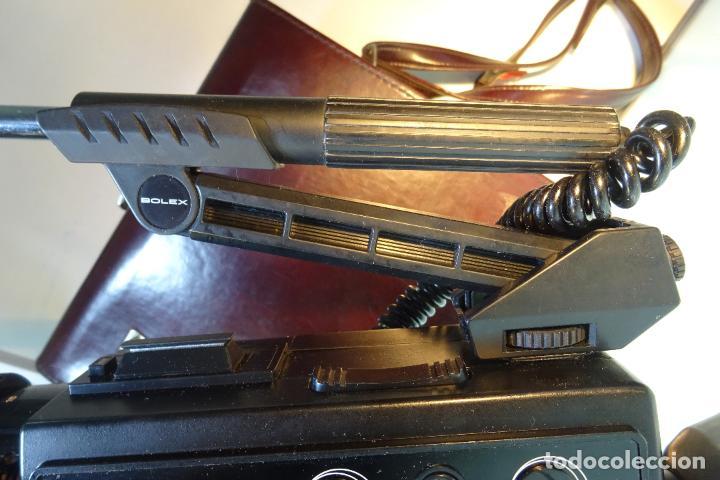 Antigüedades: INTERESANTE LOTE DE CÁMARA SUPER 8 BOLEX MODELO 5122 SOUND - MALETA Y MUCHOS ACCESORIOS - - Foto 29 - 81192936