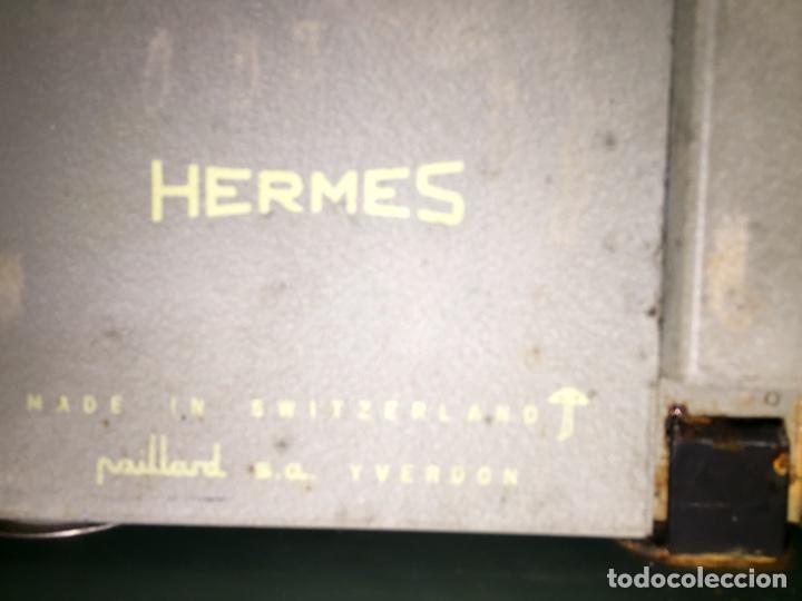 Antigüedades: Máquina de escribir Hermes - Foto 3 - 175706862