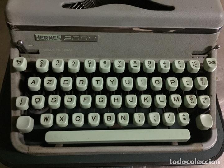 Antigüedades: Máquina de escribir Hermes - Foto 4 - 175706862