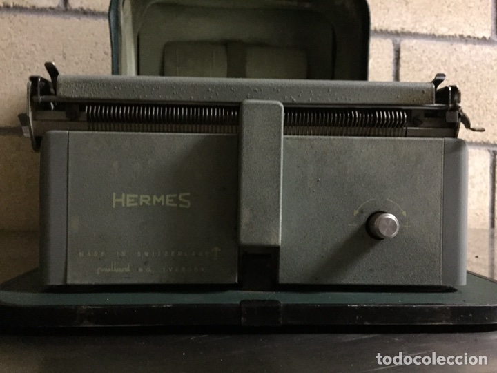 Antigüedades: Máquina de escribir Hermes - Foto 6 - 175706862