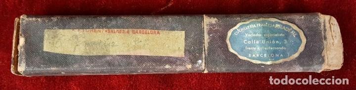 Antigüedades: CONJUNTO DE BARBERO COMPLETO. PRINCIPIOS SIGLO XX. - Foto 22 - 81272092