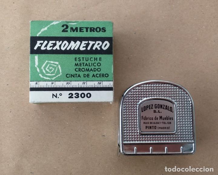 Antiguo flexometro obsequio f brica de muebles comprar reglas de c lculo antiguas en - Telefono registro bienes muebles madrid ...