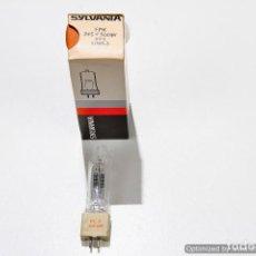 Antigüedades: LAMPARA (BOMBILLA) PARA PROYECTOR SYLVANIA FFX HALOGENA ZOCALO 2 PINCHOS (245V/500W) CON CAJA. Lote 81293520