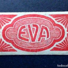 Antigüedades: HOJA DE AFEITAR ANTIGUA-EVA-DISTRIBUIDOR ESPAÑA-AMERICAN MACHINE-VALENCIA-VINTAGE. Lote 81676352