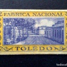 Antigüedades: HOJA DE AFEITAR ANTIGUA-FABRICA NACIONAL DE TOLEDO-VINTAGE. Lote 81678160