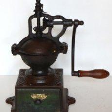 Antigüedades: MOLINILLO DE CAFÉ MARCA PEUGEOT FRÈRES. MODELO A-0. FRANCIA. CA. 1864/1935. Lote 166735476
