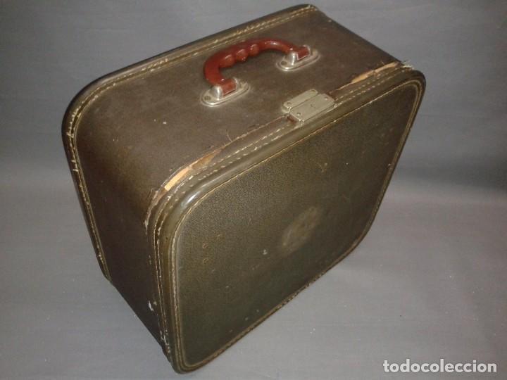 Antigüedades: 419- ANTIGUA MAQUINA ESCRIBIR ( PORTATIL) REMINGTON TAB MIRACLE OFFICE RITER ( AÑO 1956) - Foto 4 - 81685884