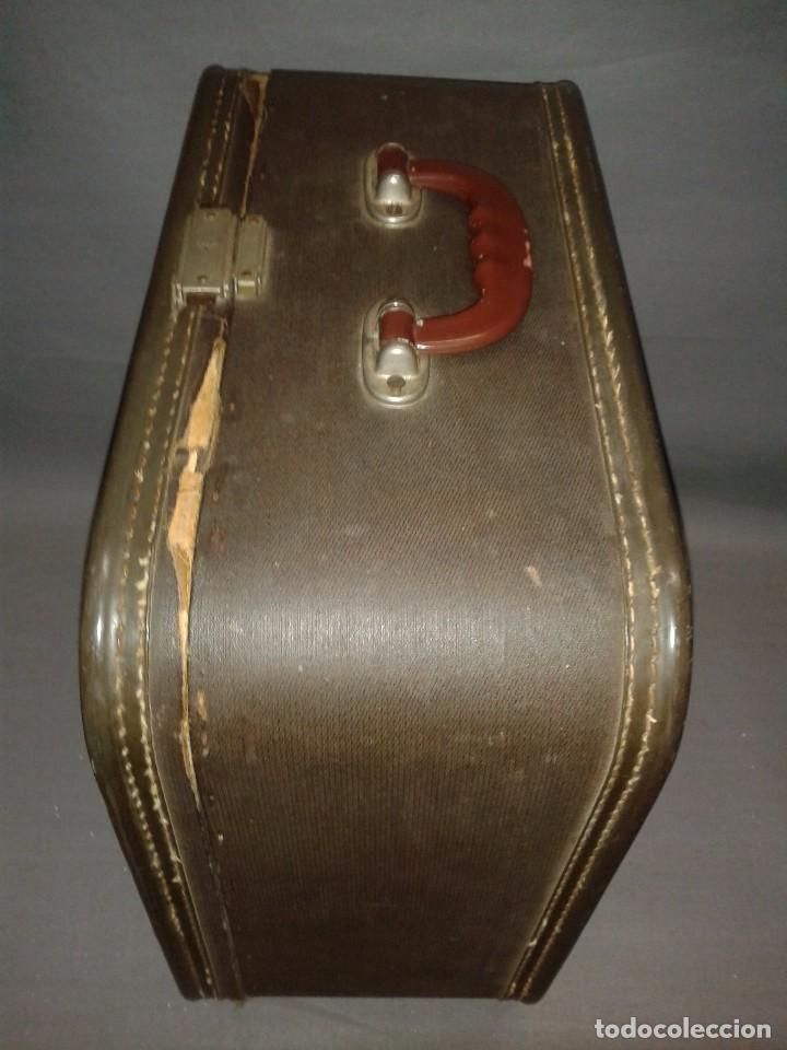 Antigüedades: 419- ANTIGUA MAQUINA ESCRIBIR ( PORTATIL) REMINGTON TAB MIRACLE OFFICE RITER ( AÑO 1956) - Foto 5 - 81685884