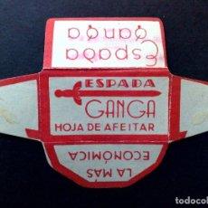 Antigüedades: HOJA DE AFEITAR ANTIGUA-ESPADA-GANGA-LA MAS ECONOMICA-VINTAGE. Lote 81730036