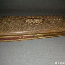 Antigüedades: 818- ANTIQUISIMA FUNDA DE GAFAS? DEL SIGLO XIIX -XIX ( 15 X 6,5 CMS APROX). Lote 81809732