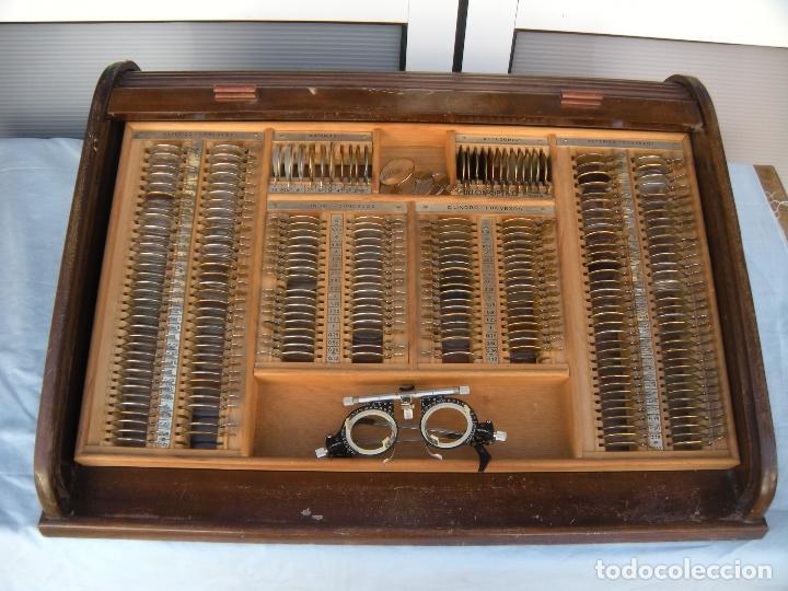 LENTES OPTOMETRÍA OFTALMOLOGÍA ÓPTICA (Antigüedades - Técnicas - Otros Instrumentos Ópticos Antiguos)