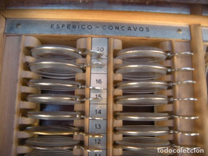 Antigüedades: LENTES OPTOMETRÍA OFTALMOLOGÍA ÓPTICA - Foto 2 - 81941052