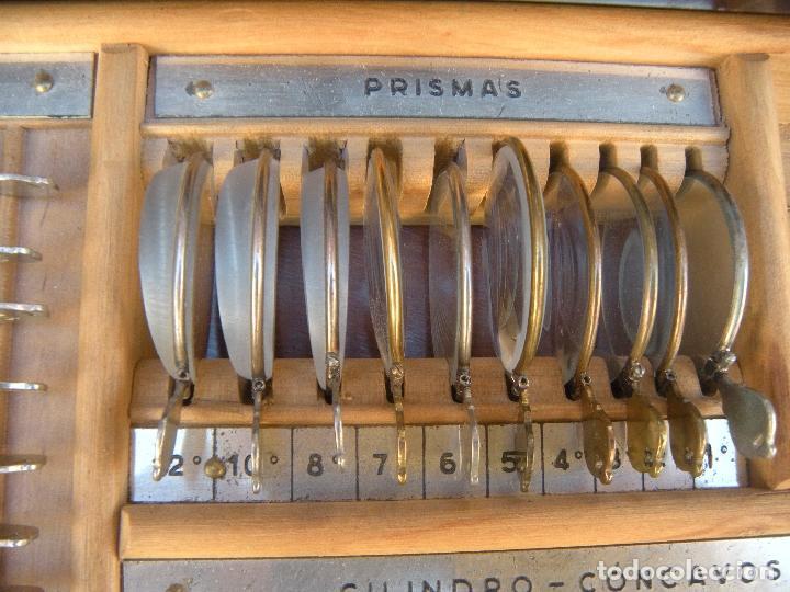 Antigüedades: LENTES OPTOMETRÍA OFTALMOLOGÍA ÓPTICA - Foto 3 - 81941052