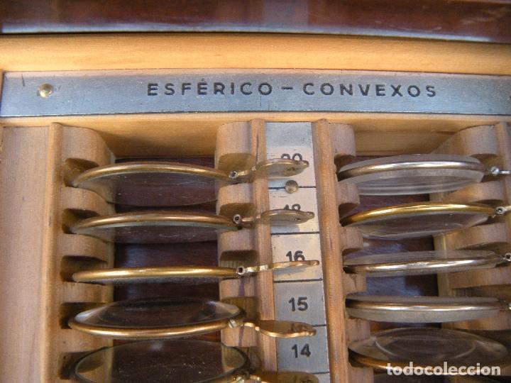 Antigüedades: LENTES OPTOMETRÍA OFTALMOLOGÍA ÓPTICA - Foto 4 - 81941052
