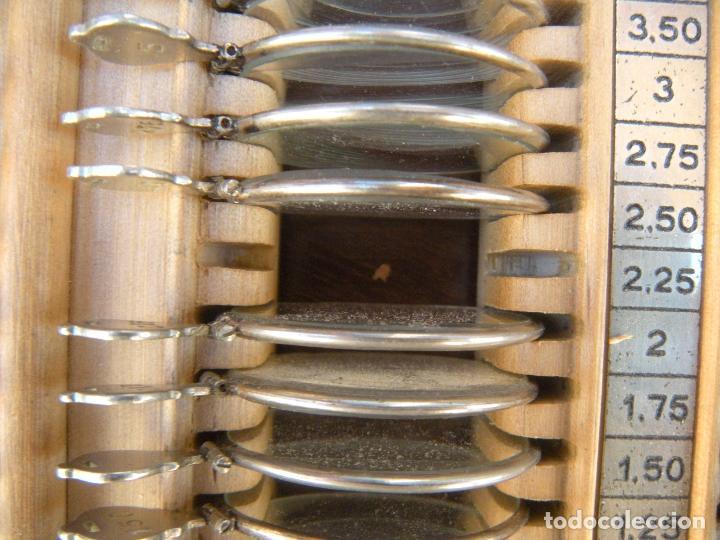 Antigüedades: LENTES OPTOMETRÍA OFTALMOLOGÍA ÓPTICA - Foto 5 - 81941052