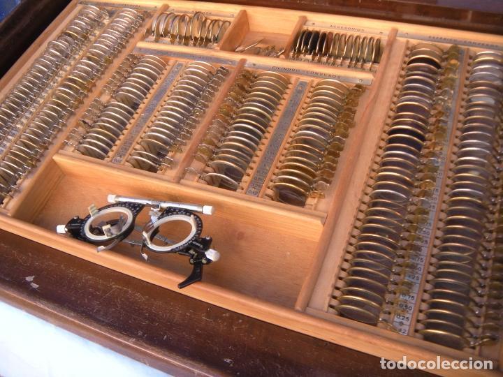 Antigüedades: LENTES OPTOMETRÍA OFTALMOLOGÍA ÓPTICA - Foto 7 - 81941052