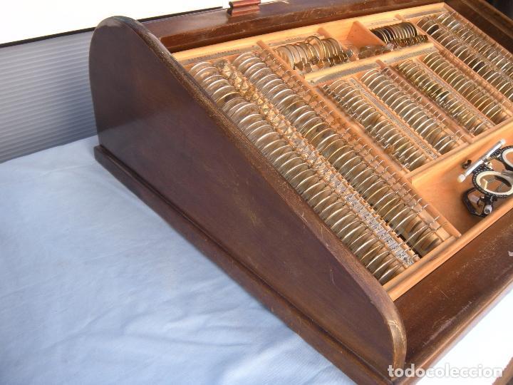 Antigüedades: LENTES OPTOMETRÍA OFTALMOLOGÍA ÓPTICA - Foto 8 - 81941052