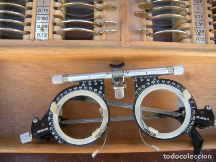 Antigüedades: LENTES OPTOMETRÍA OFTALMOLOGÍA ÓPTICA - Foto 10 - 81941052
