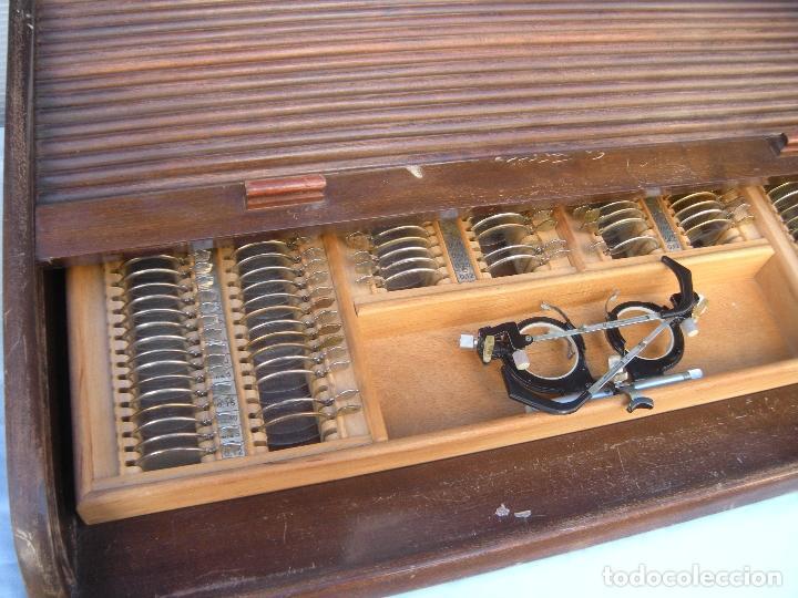 Antigüedades: LENTES OPTOMETRÍA OFTALMOLOGÍA ÓPTICA - Foto 11 - 81941052