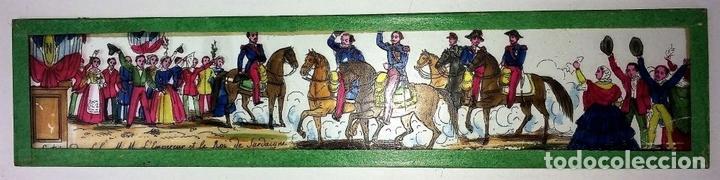Antigüedades: CRISTALES PARA LINTERNA MÁGICA. CON FÁBULAS. FRANCIA. ALEMANIA. CIRCA 1850 - Foto 11 - 81997188
