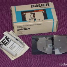 Antigüedades: ANTIGUA EMPALMADORA SPLICER - BAUER - PARA PELÍCULA SUPER 8 - MADE IN GERMANY - BUEN ESTADO. Lote 82075220