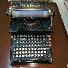 Antigüedades: MAQUINA DE ESCRIBIR SMITH PREMIER 10A (USA, 1910) FUNCIONANDO. Lote 82080376