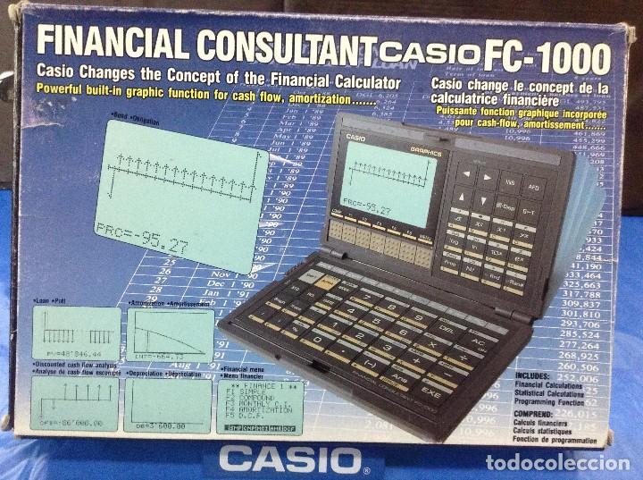 800c31255426 3 fotos CALCULADORA CASIO FC 1000 VINTAGE ¡ NUEVA ! (Antigüedades -  Técnicas - Aparatos de Cálculo ...