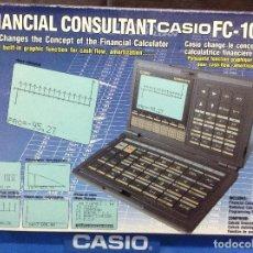 Antigüedades: CALCULADORA CASIO FC 1000 VINTAGE ¡ NUEVA !. Lote 100999330