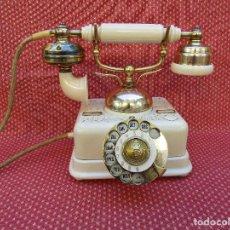 Teléfonos: ANTIGUO TELEFONO DANES, KJØBENHAVNS TELEFON AKTIESELSKAB,CIRCA 1940 (ES DE HIERRO, NO DE PLASTICO),. Lote 82466932