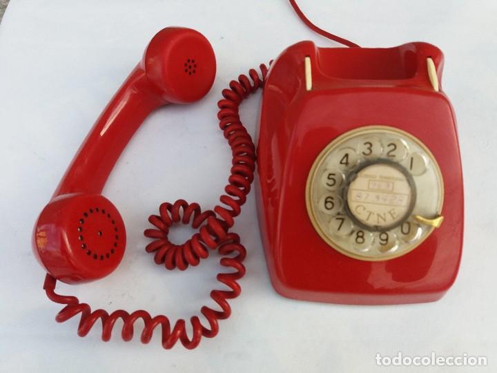 Teléfonos: TELÉFONO HERALDO ROJO CITESA MÁLAGA ADAPTADO A RED - Foto 2 - 82525228