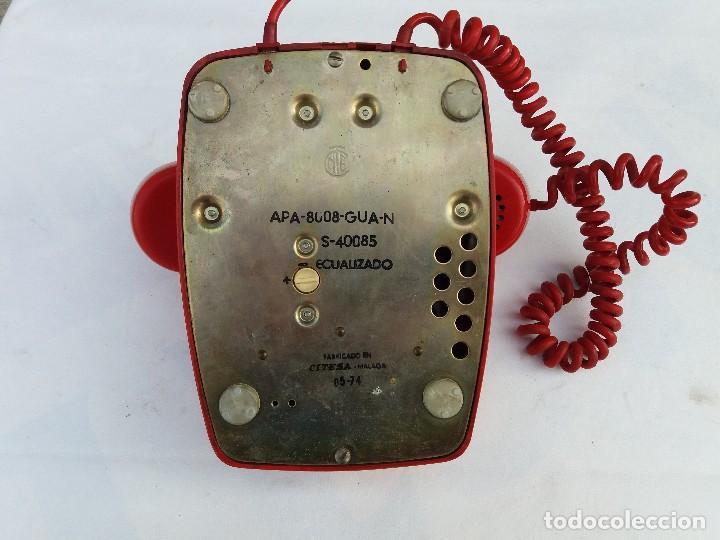 Teléfonos: TELÉFONO HERALDO ROJO CITESA MÁLAGA ADAPTADO A RED - Foto 3 - 82525228
