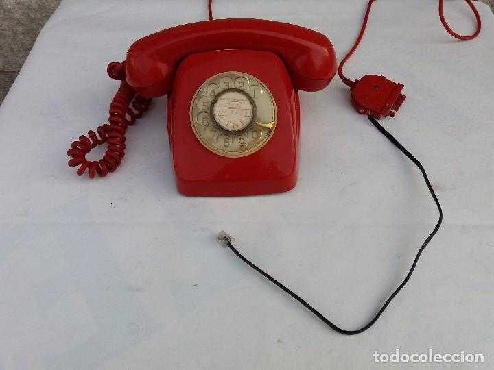 Teléfonos: TELÉFONO HERALDO ROJO CITESA MÁLAGA ADAPTADO A RED - Foto 4 - 82525228