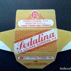 Antigüedades: HOJA DE AFEITAR ANTIGUA-SEDALINA-CALIDAD SUPREMA 0'30 PTS.-VINTAGE. Lote 82632888