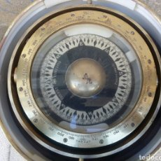 Antigüedades: BITACORA BRUJULA TREPAT BARCELONA PASEO DE COLON 12 ESPECTACULAR VER FOTOS. Lote 82709687